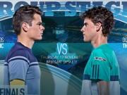 Thể thao - Tennis, ATP Finals ngày 5: SAO trẻ quyết đấu vì vé vàng
