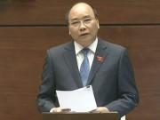 Tin tức trong ngày - Clip: Thủ tướng Nguyễn Xuân Phúc trả lời chất vấn