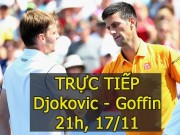 Chi tiết Djokovic - Goffin: Thế trận thuận lợi (KT)