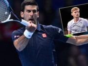 Thể thao - Djokovic - Goffin: Thắng thần tốc (ATP Finals)