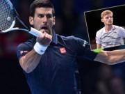 Thể thao - Djokovic - Goffin: Thắng thần tốc (ATP Finals)