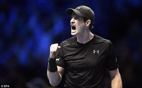 Tin thể thao 18/11: Thắng Wawrinka, Murray sẽ có kỉ lục