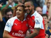 """Bóng đá - Arsenal đấu MU: Sanchez trấn an Wenger, Walcott lo """"hộ đê"""""""