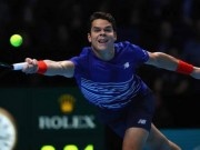 Raonic - Thiem: Bản lĩnh giành vé (ATP Finals)