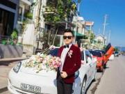 Bạn trẻ - Cuộc sống - Dàn siêu xe 50 tỷ trong lễ cưới người đẹp và đại gia Hạ Long