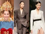 """Thời trang - Lan Khuê, Trang Khiếu, Nam Em """"thổi tung"""" sàn catwalk"""