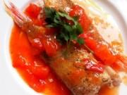 Ẩm thực - Bữa trưa ngon miệng với món cá hồng sốt cà chua