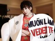 Thời trang - Thanh Hằng diện áo với slogan gây sốc trên sàn diễn