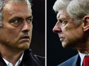 Bóng đá - MU - Arsenal: Mourinho trẻ lại bảo thủ hơn Wenger già