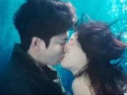 """Phim - Lee Min Ho hôn """"nàng tiên cá"""" Jeon Ji Hyun dưới biển"""