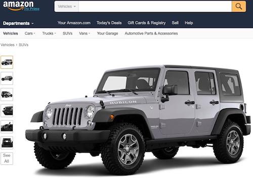 Amazon sẽ bán thêm xe hơi, giá rẻ hơn 30%
