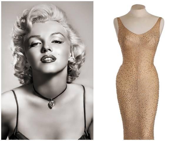 Cận cảnh chiếc váy 4,8 triệu USD của Marilyn Monroe