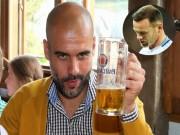 """Bóng đá - Bênh vực Rooney, Pep khoe """"tửu lượng"""" bản thân"""