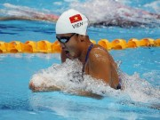 Thể thao - Ánh Viên về thứ 4 châu Á, hụt huy chương 400m tự do