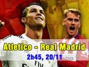 Bóng đá - Atletico – Real Madrid: Trông cả vào Ronaldo – Bale