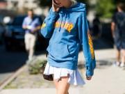 Thời trang - 5 cách mặc áo hoodie cần nạp ngay vào từ điển thời trang