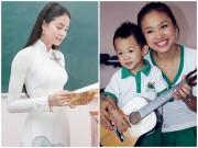 Thời trang - Ngắm trang phục của sao Việt khi đứng trên bục giảng