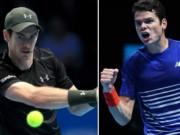 Murray - Raonic: Không dành cho người yếu tim (ATP Finals)