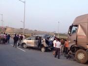 Tin tức trong ngày - Danh tính nạn nhân vụ tai nạn trên cao tốc HN-Thái Nguyên