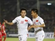 Bóng đá - ĐT Việt Nam: Văn Quyết mở hàng, fan ngập tràn vui sướng