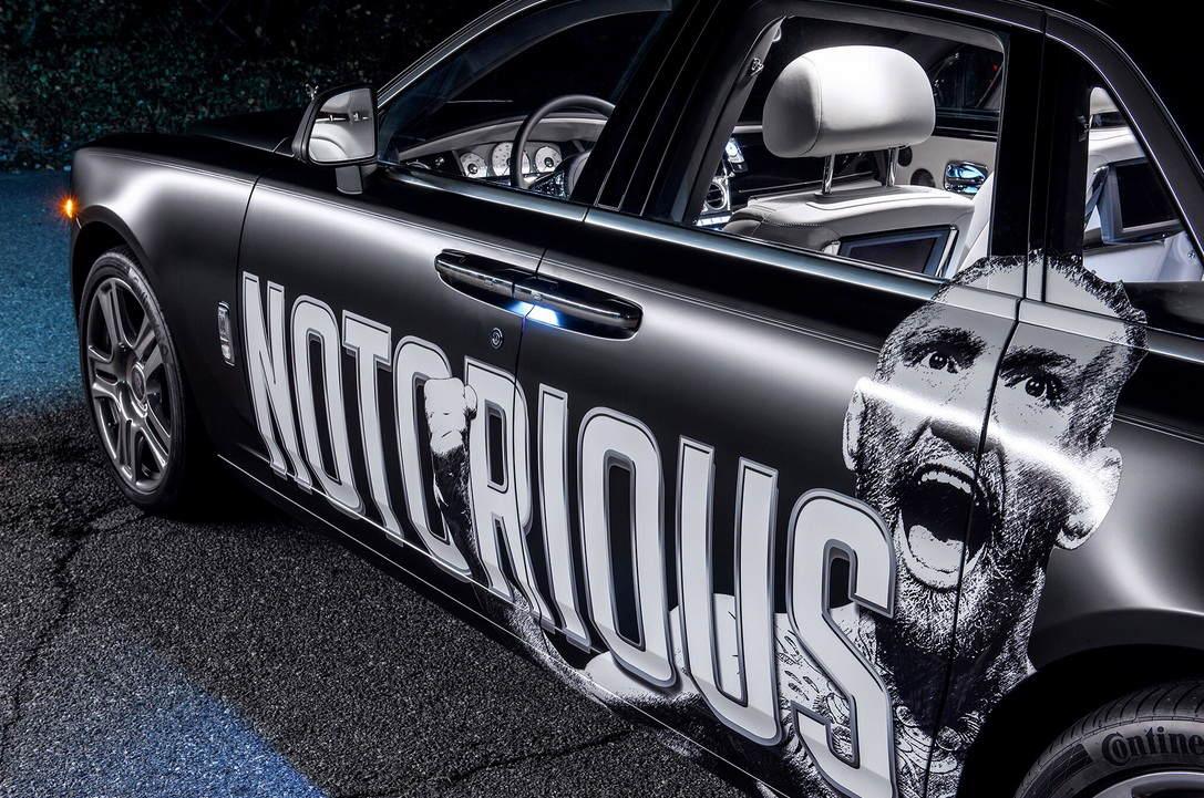 """Soi Rolls-Royce Ghost cực độc của """"gã điên"""" Conor McGregor - 5"""
