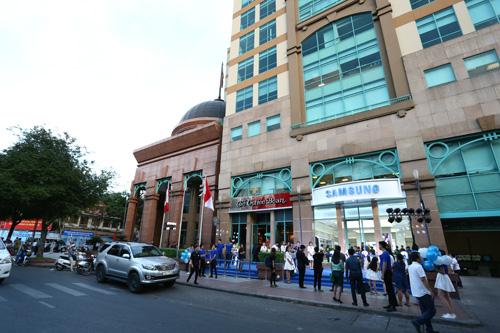 Samsung khai trương cửa hàng trải nghiệm sản phẩm lớn nhất Việt Nam