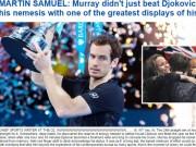 Thể thao - Federer & báo chí ngả mũ trước người hùng Murray