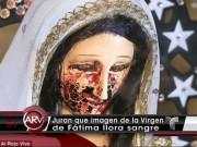 """Phi thường - kỳ quặc - Phát hiện tượng Đức Mẹ Đồng Trinh """"khóc ra máu"""" ở Mexico"""