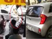 Tin tức trong ngày - Clip: Tài xế ô tô hất CSGT lên nắp capo rồi bỏ chạy