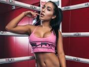 Làm đẹp - Ring girl sở hữu thân hình nóng bỏng nhờ mê gym