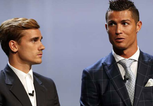 "Ronaldo: ""Griezmann nói ghét tôi"""