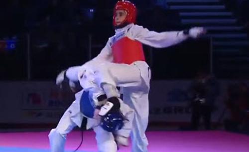 Kỷ lục Taekwondo: Ghi 73 điểm không dính đòn nào