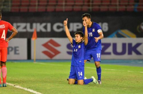 Thái Lan - Singapore: Người hùng từ ghế dự bị (AFF Cup) - 2
