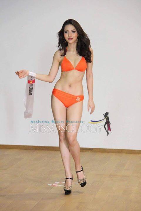 Màn bikini của đại diện Việt lấn át đối thủ tại HH Siêu quốc gia - 1