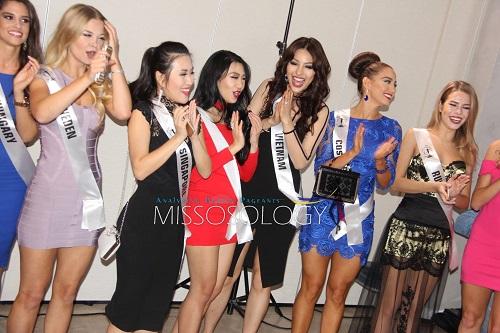Màn bikini của đại diện Việt lấn át đối thủ tại HH Siêu quốc gia - 7