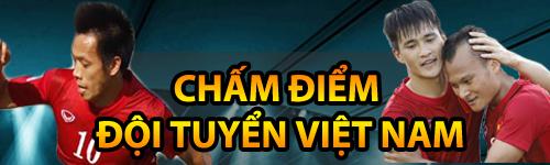 Chấm điểm ĐT Việt Nam: Hoàng – Xuân – Vinh lập đại công