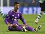 Bóng đá - Sút toàn trượt, Ronaldo lập kỷ lục buồn ở Champions League