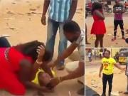 Bạn trẻ - Cuộc sống - Clip: Màn cầu hôn kịch tính khiến bạn gái khóc thét