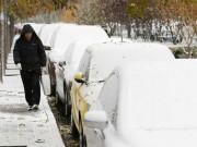 Thế giới - Tuyết đầu mùa phủ trắng Trung Quốc