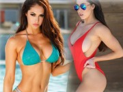 Làm đẹp - Mỹ nữ phòng gym quá khêu gợi nhờ số đo 3 vòng khó tin