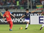 Bóng đá - Myanmar - Campuchia: Bùng nổ ngược dòng (AFF Cup)