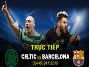 Bóng đá - Chi tiết Celtic - Barcelona: Messi bỏ lỡ hat-trick (KT)