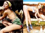 Thời trang - Chết ngất vì vẻ hấp dẫn của các thôn nữ xinh đẹp