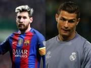 Bóng đá - Cúp C1: Messi – Ronaldo và cuộc đua tới mốc 100