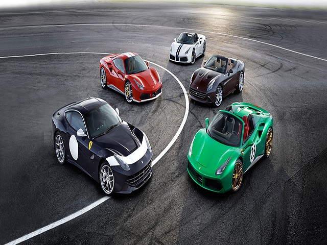 Ngắm hình ảnh 70 mẫu xe Ferrari đặc biệt - 1