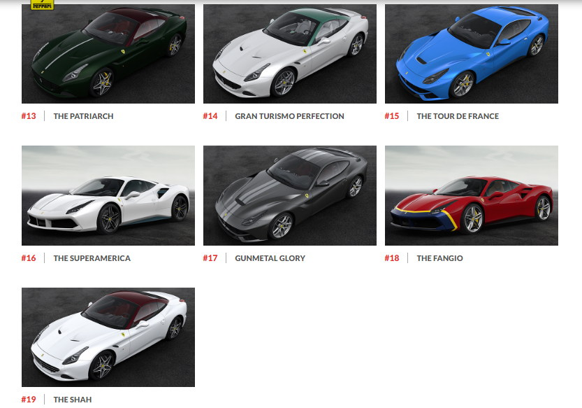 Ngắm hình ảnh 70 mẫu xe Ferrari đặc biệt - 4