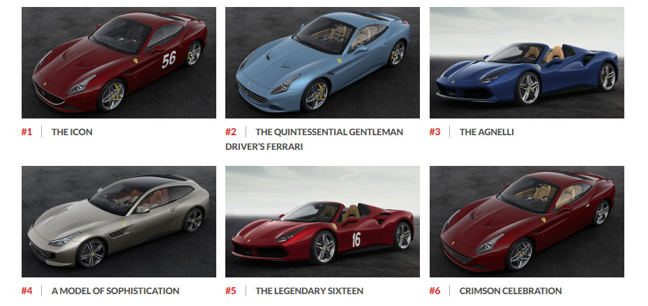 Ngắm hình ảnh 70 mẫu xe Ferrari đặc biệt - 2