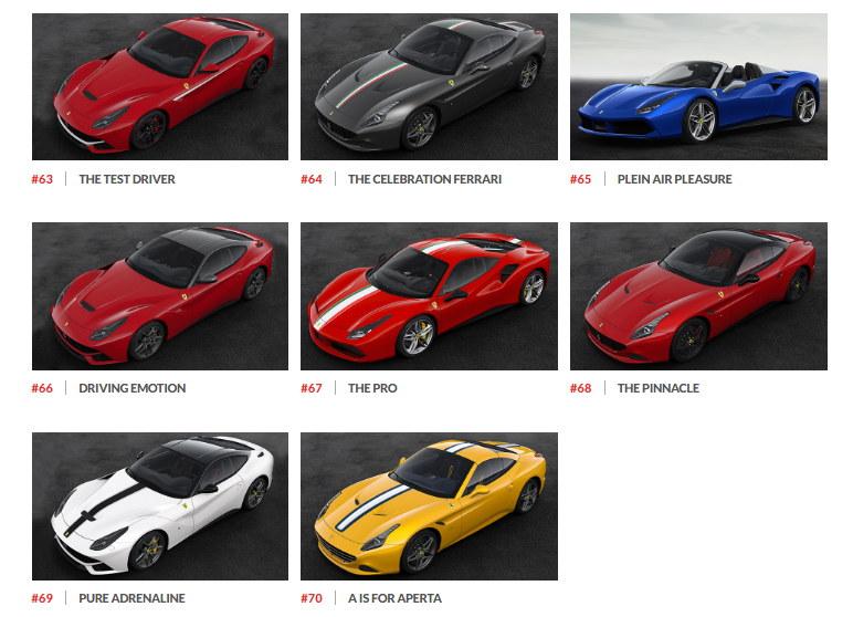 Ngắm hình ảnh 70 mẫu xe Ferrari đặc biệt - 12