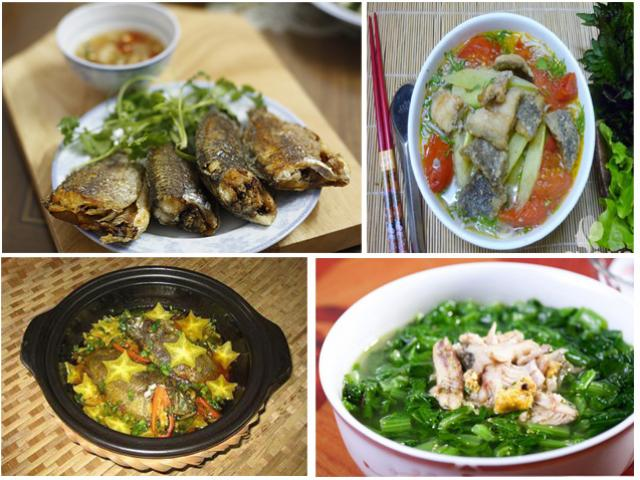 Ngày lạnh, làm 5 món vừa ngon vừa rẻ từ cá rô đồng