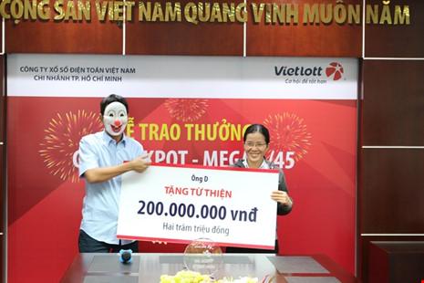 Người trúng số độc đắc 56 tỉ đến từ Vũng Tàu